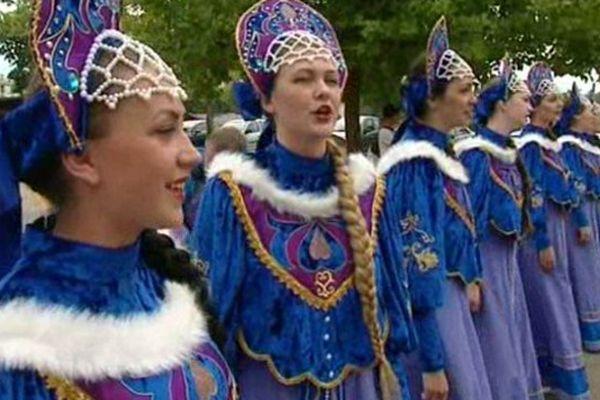 Groupe Slovaque au festival de Montoire dans le Loir-et-Cher