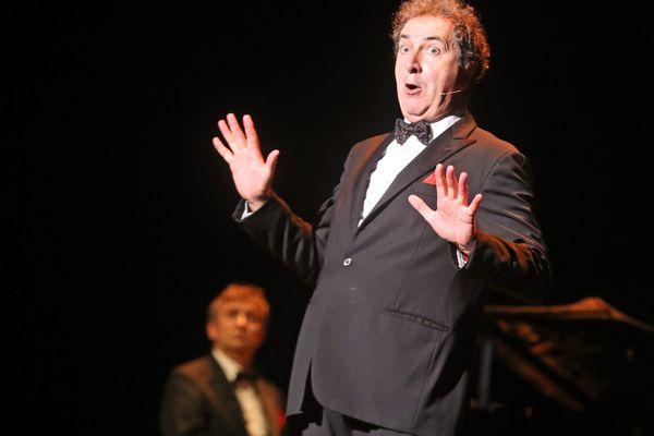 """François Morel, ici en représentation à Mulhouse, joue """"J'ai des doutes"""" à Angoulême cette fin de semaine."""