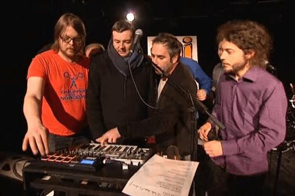 Jacques Perrotte et le groupe Mi Fajeur