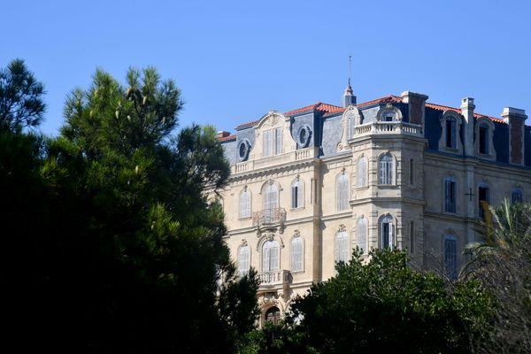"Le premier nom de la Villa Valmer fût ""Vague à la Mer"""