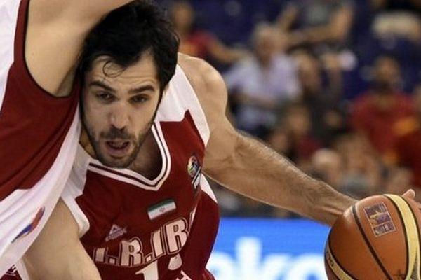 Le match l'Egypte contre l'Iran durant la FIBA World basketball championships group 2014