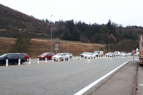 Autoroute A51 fermée, sortie obligatoire à La Saulce au Nord et à Sisteron-Sud au Sud