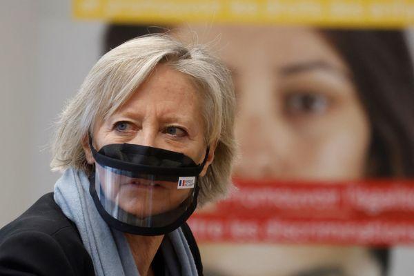 Sophie Cluzel est candidate LREM aux élections régionales de Provence-Alpes-Côte-d'Azur et secrétaire d'État chargée des Personnes handicapées.