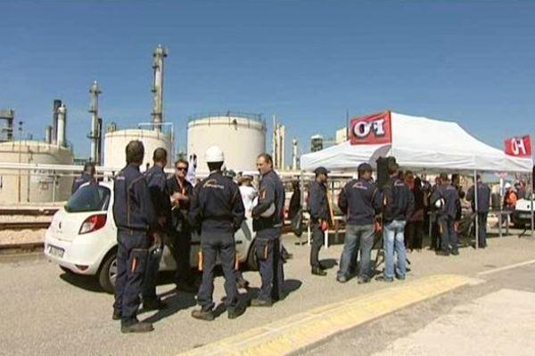 Les salariés Kem One en grève - archives France 3