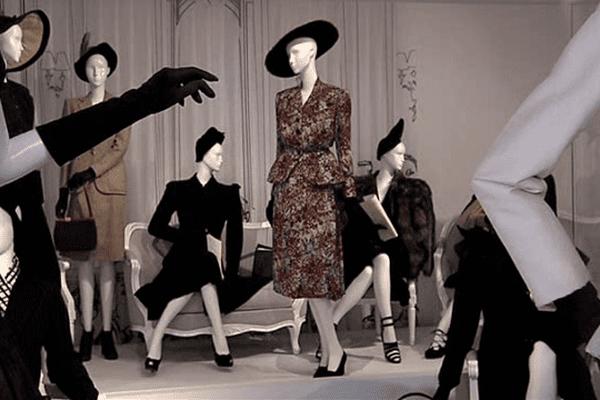 """L'exposition """"La révolution du New Look"""" est à découvrir à Granville jusqu'au 1er novembre"""