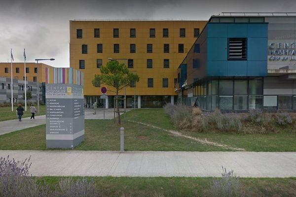 """L'actuel centre hospitalier """"Côte de Lumière"""" à Olonne-sur-Mer"""