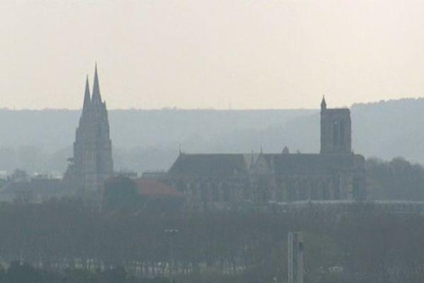 La ville de Soissons
