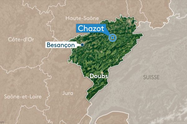 La commune de Chazot se situe à quelques kilomètres de Baume-les-Dames.