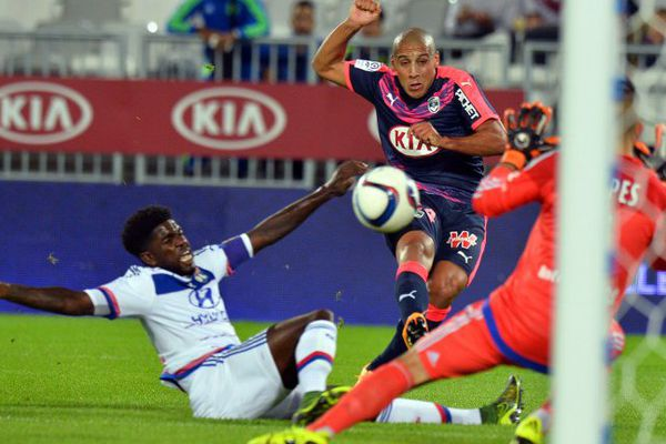 "Wahbi Khazri, ""intenable"" durant le match Bordeaux-Lyon."