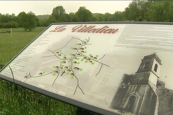 La Villedieu village oublié du Doubs