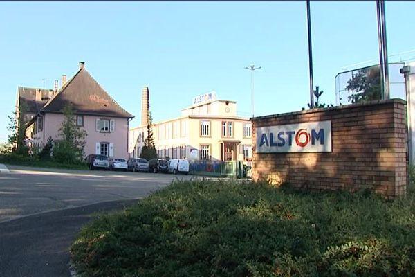 Le site Alstom à Reichshoffen