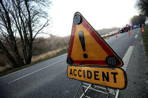 Illustration. Un jeune homme de 25 ans est mort dans un accident de moto sur la RD36, jeudi 21 octobre. / © Lionel Vadam/MaxPPP