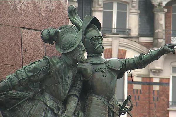 Monument de commémoration du siège de Saint-Quentin de 1557