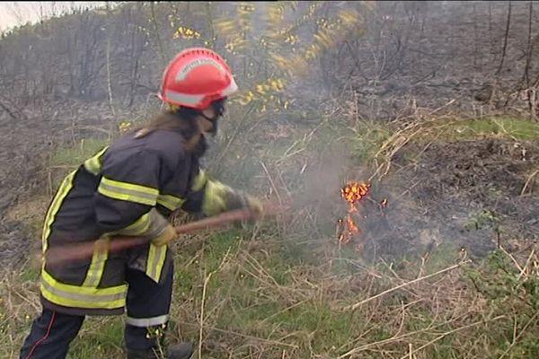 Ecobuage au pays basque, une pratique contestée (image d'illustration)