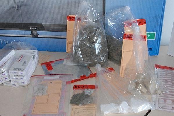 Un réseau de revente de produits stupéfiants ont été démantelé par la compagnie de gendarmerie d'Autun