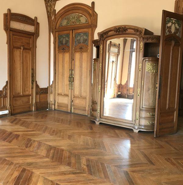La chambre maritale. Chacun son lit mais dans la même chambre ! On peut même voir une partie du lit de Madame dans les combles.