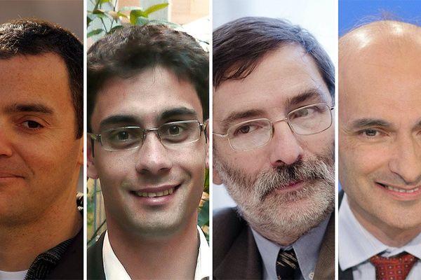 Olivier Bertrand, Gael Roustan, Daniel Ibanez et Etienne Tête, invités de l'émission Dimanche en Politique