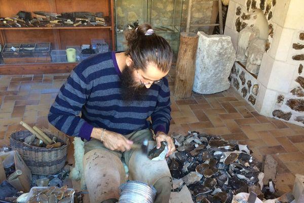 Atelier-Musée de la pierre à fusil (Meusnes)