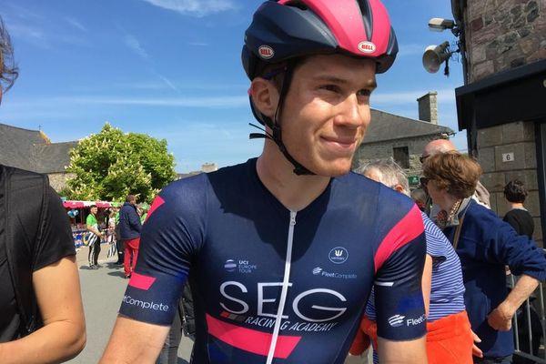 Alberto Dainese remporte pour la troisième fois une étape du Tour de Bretagne