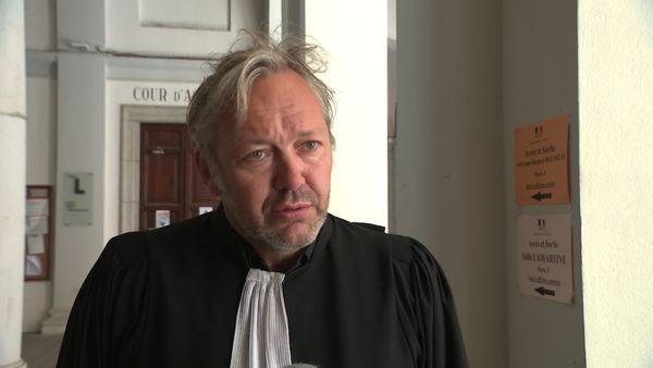 Maître Sylvain Cormier, avocat de l'ancien directeur d'école