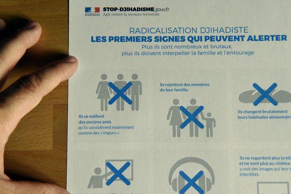 """Campagne """"Stop-Djihadisme"""" mise en place par le gouvernement."""