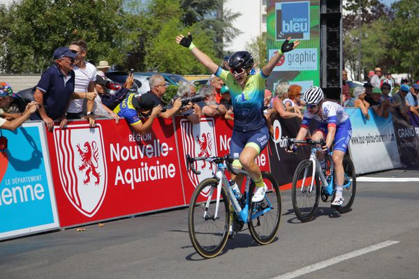 Gladys Verhulst remporte la 4e édition de la Picto-Charentaise 2019 - Tour du Poitou-Charentes en Nouvelle-Aquitaine.