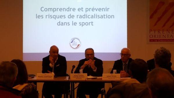 Perpignan : débat sur la radicalisation dans le sport