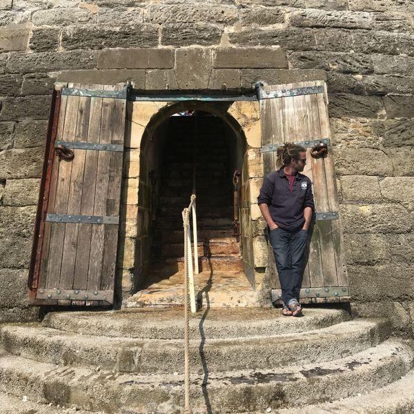 Benoit, l'un des deux gardien du phare de Cordouan