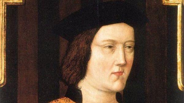 Portrait d'Edouard IV (1442-1483).