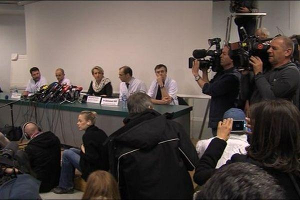 Deuxième conférence de presse sur l'état de santé de Michael Schumacher