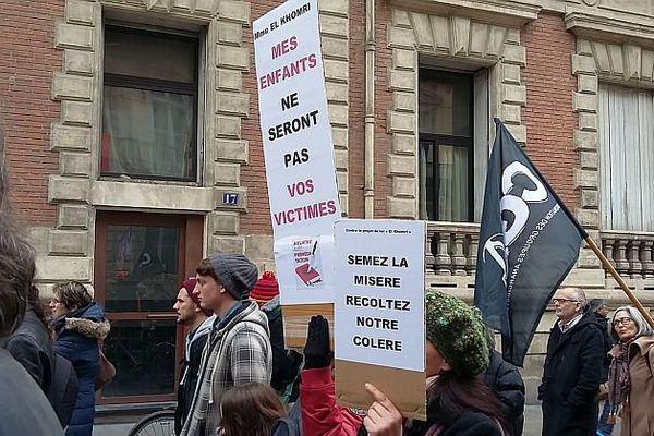 Montpellier, manifestation contre la loi Travail - 9 mars 2016.