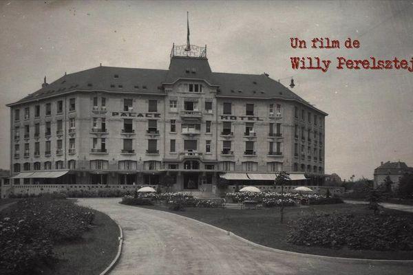 Le Palace Hôtel à Mondorf-lès-Bains au Luxembourg reconverti en prison secrète pour nazis