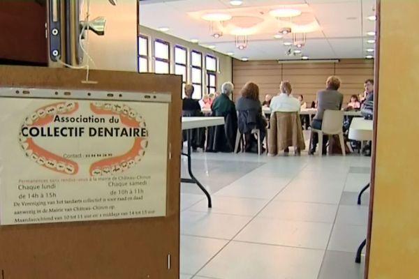 """Les patients victimes du dentiste de Chateau-Chinon se sont regroupés en une association appelée """"collectif dentaire"""" afin d'obtenir réparation au préjudice de santé subi."""