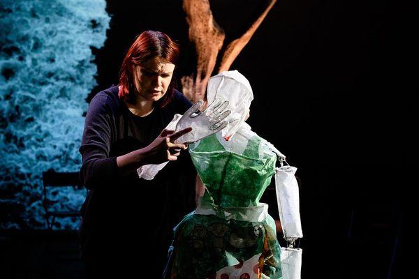 Dernière création : les marionnettes conçues par Ches Panses Vertes pour l'opéra Bastien et Bastienne de Mozart.