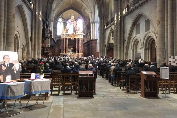 Les obsèques de Jean-Claude Antonini le 13 février 2019 à Angers