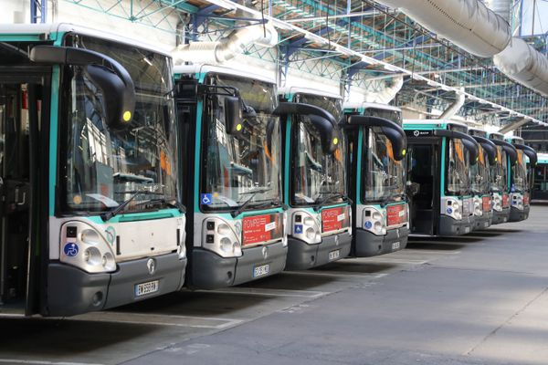 Des bus de la RATP