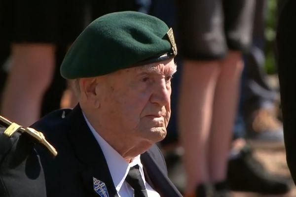 Léon Gautier au Mont Valérien, le 18 juin 2021