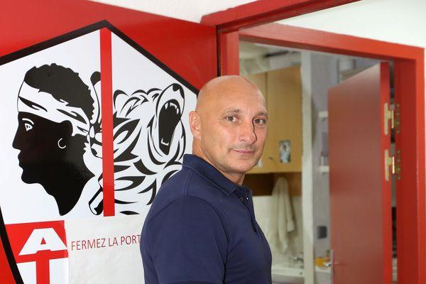 Olivier Pantaloni, l'entraîneur de l'ACA