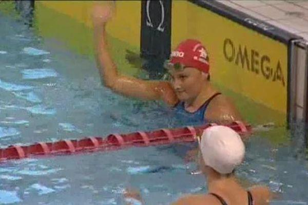 Tout comme Jérémy Stravius, l'amiénoise Mélanie Henique a remporté la Golden Lanes après son succès dans le bassin du Coliseum.