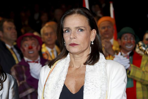 Stéphanie de Monaco le 18 janvier 2018 à l'ouverture du 42 ème festival international du cirque de Monte-Carlo.