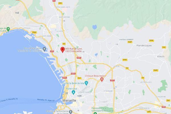 L'agression s'est produite dans un appartement de la rue de Lyon à Marseille.