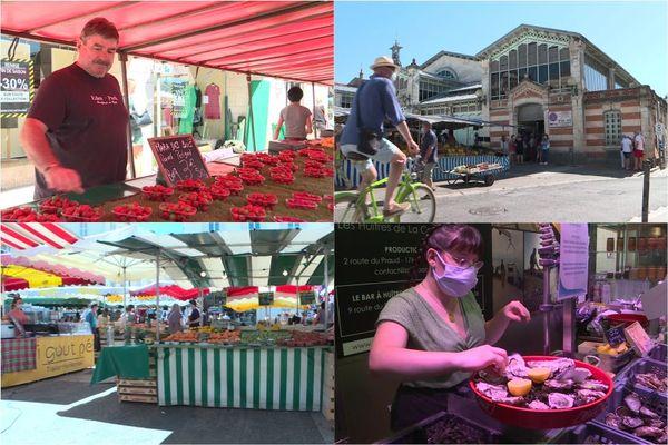 Dans les allées du marché de La Rochelle