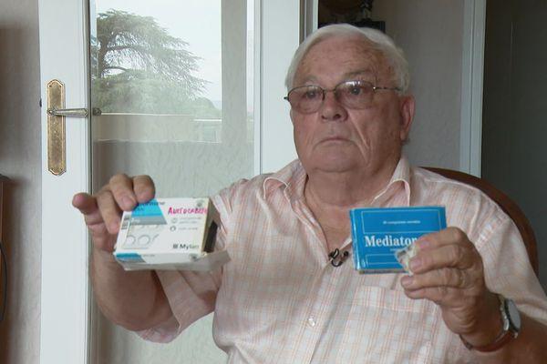 Jean-Pierre a perdu sa femme en 2010: elle était soigné pendant 20 ans avec le Mediator. Le procès du groupe Servier se tient à Paris à partir du lundi 23 septembre.