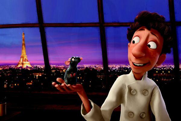 Ratatouille, film d'animation Pixar sorti en 2007.