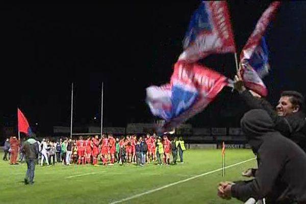 Après sa victoire contre Perpignan, le Stade Aurillacois Cantal Auvergne en route vers les phases finales.