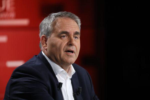 Le président des Hauts-de-France Xavier Bertrand est candidat à l'élection présidentielle 2022.