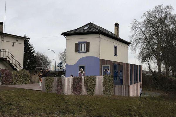 La maison de l'écluse 85 de Strasbourg s'apprête à devenir un tiers-lieu baptisé L'Orée 85.