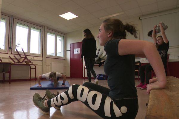 Huit lycéens forment la première promotion de l'Académie du Sport de Saint-Junien.