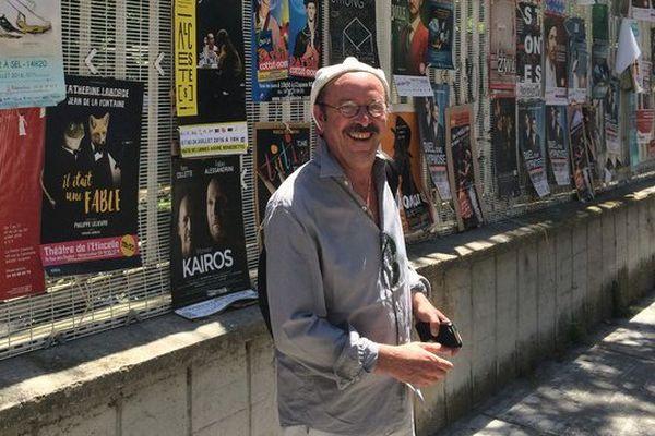"""Patrick Pelloquet, directeur du Théâtre Régional des Pays de la Loire, présentait """"L'affaire de la rue de Lourcine"""" dans le off du Festival d'Avignon"""