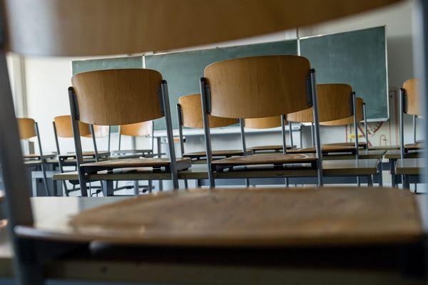 Illustration. Les salles de classes vont-elles restées vides après le 11 mai et le déconfinement progressif voulu en France dans l'épidémie de Coronavirus.